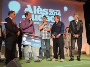 Fabien Tourneux remporte le 1er prix Alès Audace 2014