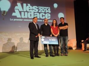 Frédérique Barral remporte le 5e prix
