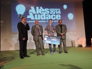Julien Sugier remporte le prix exceptionnel Jeune Talent