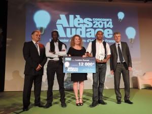 Lucien Zoromi remporte le 3e prix ex-aequo