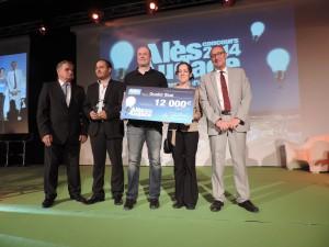 Oualid Sbai remporte le 3e prix ex-aequo