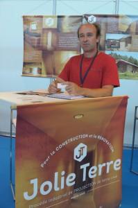Eric Defrenne PDG de Jolie Terre
